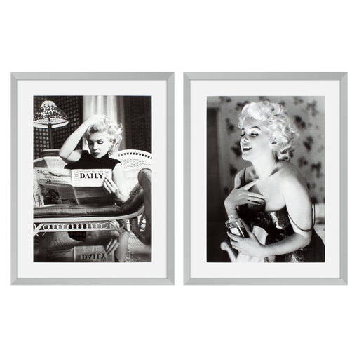 Marilyn Monroe set of 2 Prints   by Eichholtz | Modern Lighting + Decor