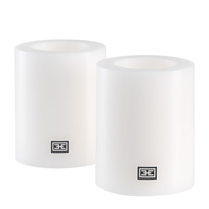 Artificial ø 10 x H. 12 cm set of 2 Candle   by Eichholtz | Modern Lighting + Decor