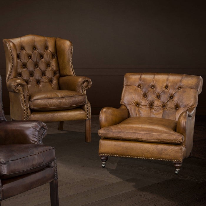Buy online latest and high quality Club Caledonian Chair from Eichholtz | Modern Lighting + Decor