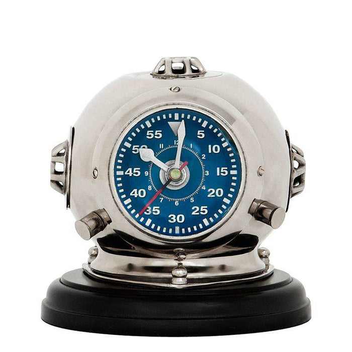 Buy online latest and high quality Diving Helmet Odyssey Clock from Eichholtz | Modern Lighting + Decor
