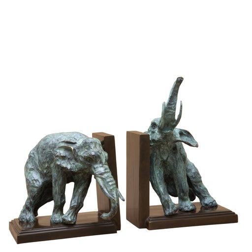 Lazy Elephant set of 2 Bookend   by Eichholtz | Modern Lighting + Decor