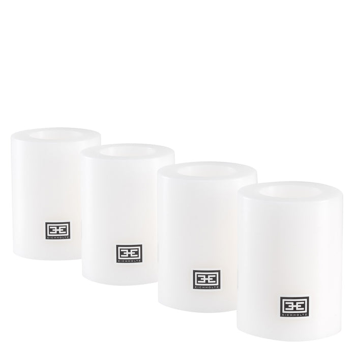 Artificial ø 7 x H. 9 cm set of 4 Candle   by Eichholtz | Modern Lighting + Decor