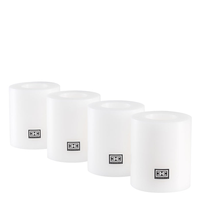 Buy online latest and high quality Artificial ø 8 x H. 9 cm set of 4 Candle from Eichholtz | Modern Lighting + Decor