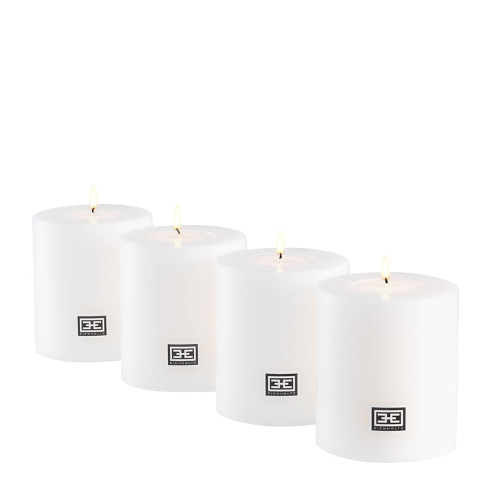 Artificial ø 8 x H. 9 cm set of 4 Candle   by Eichholtz | Modern Lighting + Decor