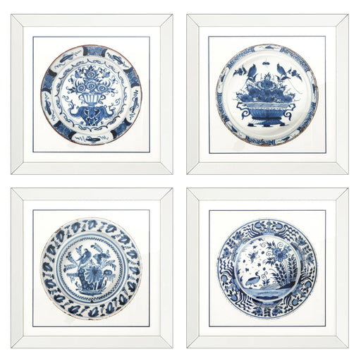 Imperial China set of 4 Prints   by Eichholtz | Modern Lighting + Decor
