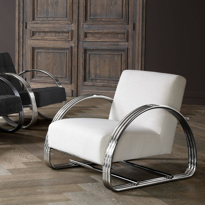 Buy online latest and high quality Basque Chair from Eichholtz | Modern Lighting + Decor