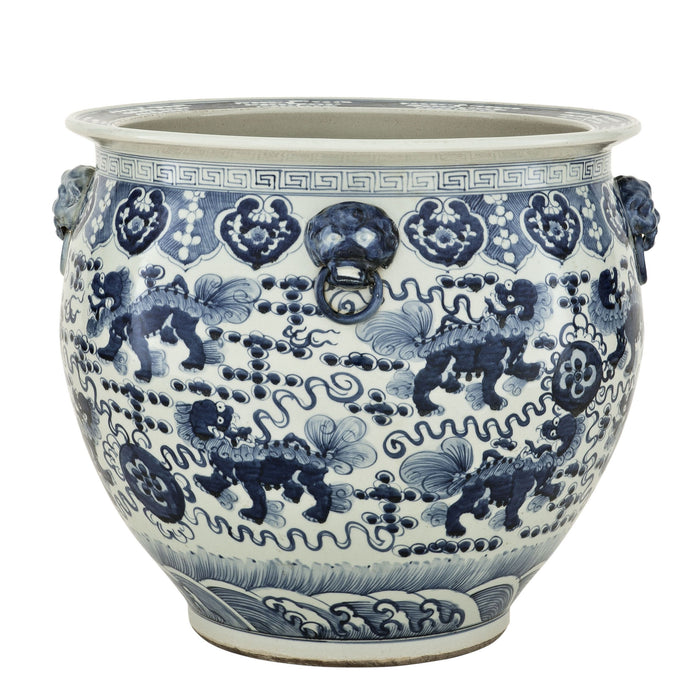 Buy online latest and high quality Chinese Fishbowl Vase from Eichholtz | Modern Lighting + Decor