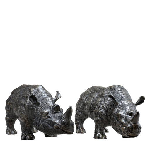 Rhinoceros set of 2   by Eichholtz | Modern Lighting + Decor