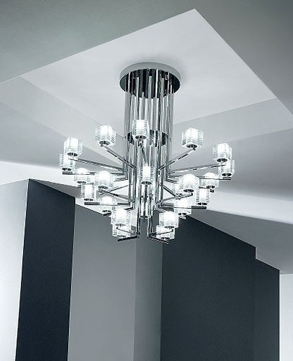 Otto X Otto Chandelier from De Majo | Modern Lighting + Decor