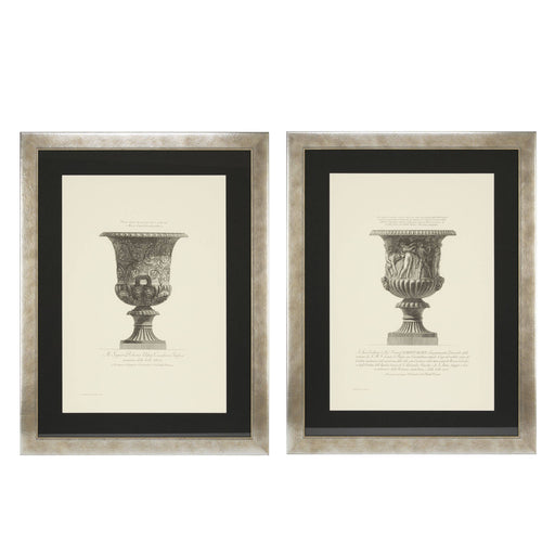 Giovanni Piranesi set of 2 Prints   by Eichholtz | Modern Lighting + Decor