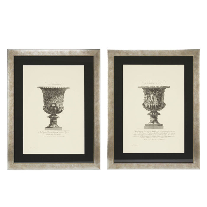 Buy online latest and high quality Giovanni Piranesi set of 2 Prints from Eichholtz | Modern Lighting + Decor