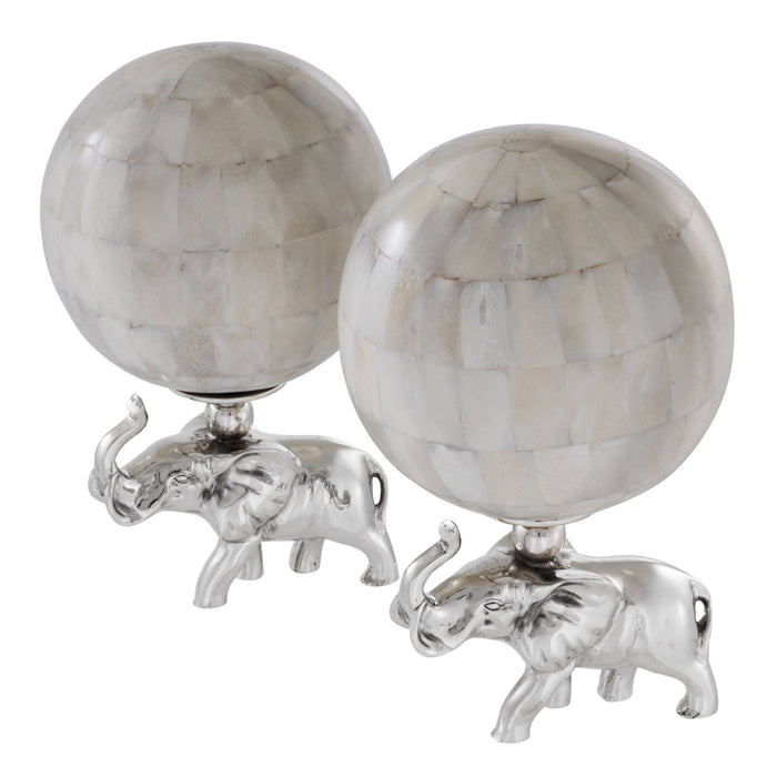 Elephanti set of 2 Object   by Eichholtz | Modern Lighting + Decor