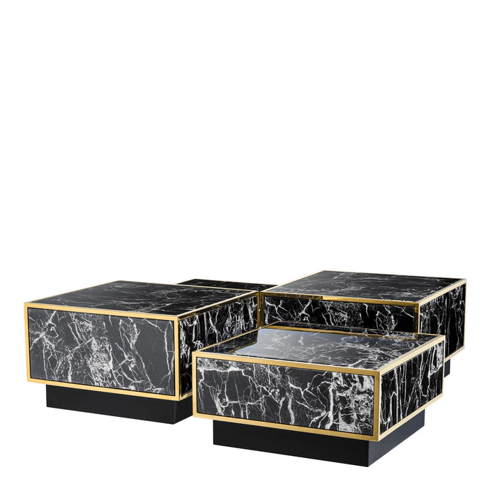 Buy online latest and high quality Concordia set of 4 Coffee Table from Eichholtz | Modern Lighting + Decor