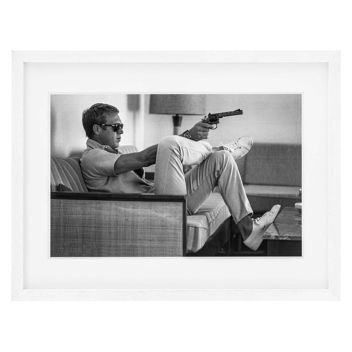 Buy online latest and high quality Steve McQueen takes Aim Print from Eichholtz | Modern Lighting + Decor