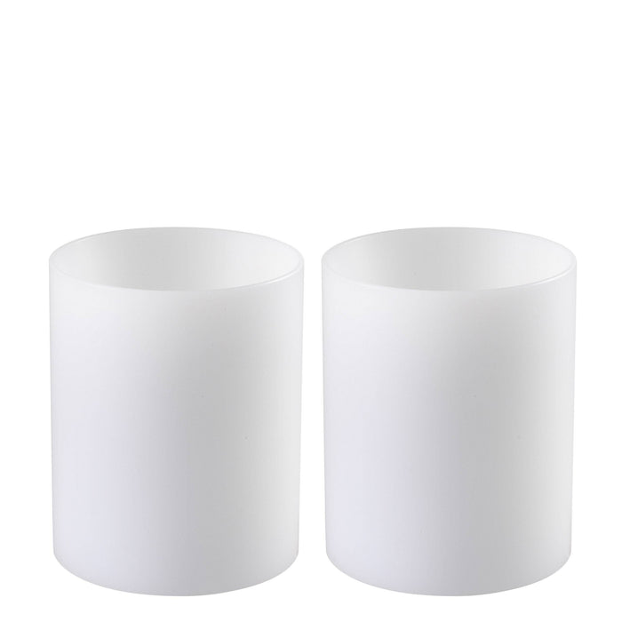 Buy online latest and high quality Artificial deep ø 10 x H. 12 cm set of 2 Candle from Eichholtz | Modern Lighting + Decor