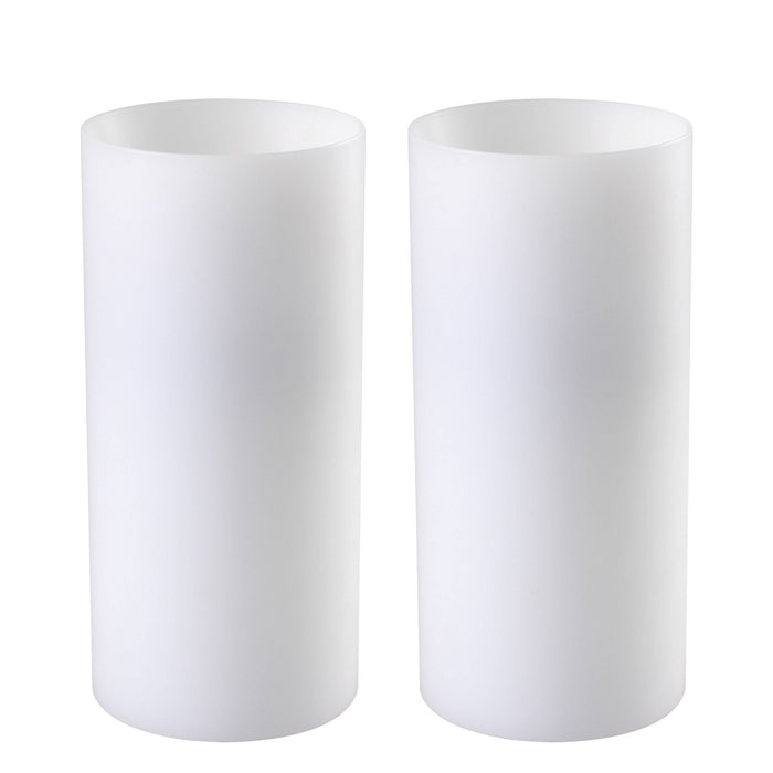 Buy online latest and high quality Artificial deep ø 10 x H. 21 cm set of 2 Candle from Eichholtz | Modern Lighting + Decor