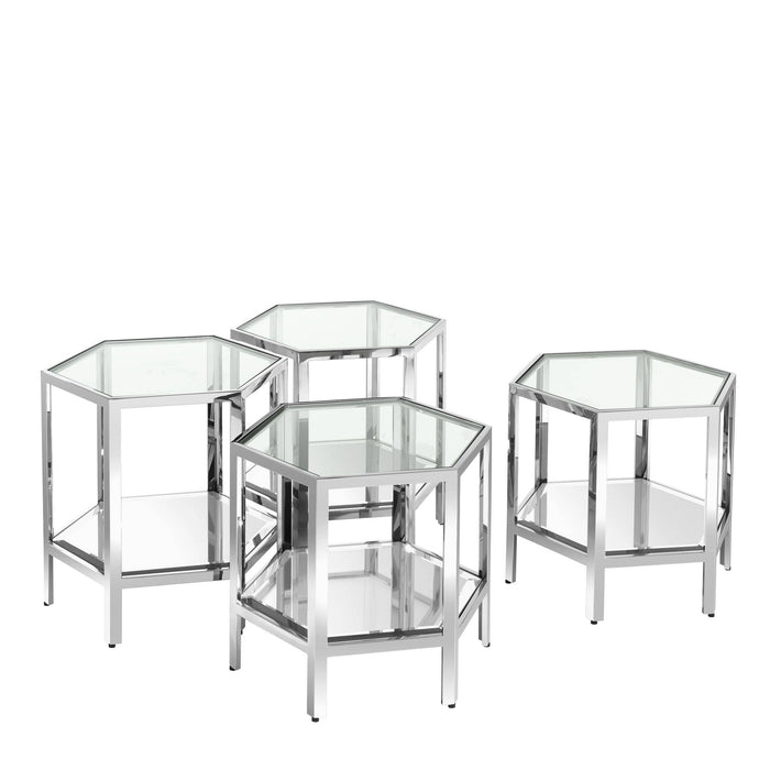 Aramis set of 4 Coffee Table   by Eichholtz | Modern Lighting + Decor