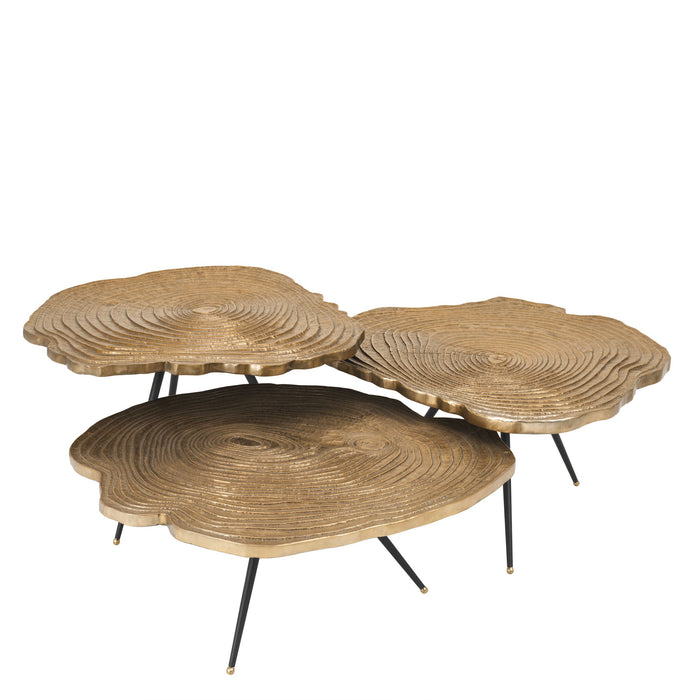 Buy online latest and high quality Quercus set of 3 Coffee Table from Eichholtz | Modern Lighting + Decor