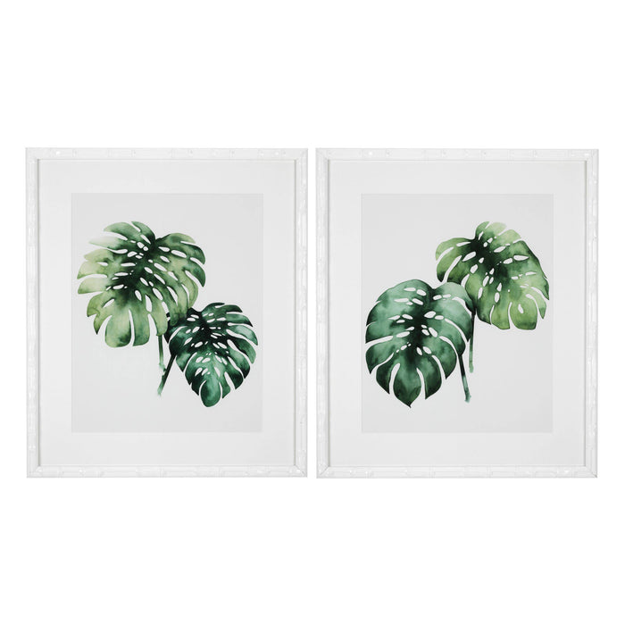 Buy online latest and high quality Tropical plants set of 2 Prints from Eichholtz | Modern Lighting + Decor