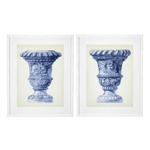 Palace Urns set of 2 Prints   by Eichholtz | Modern Lighting + Decor