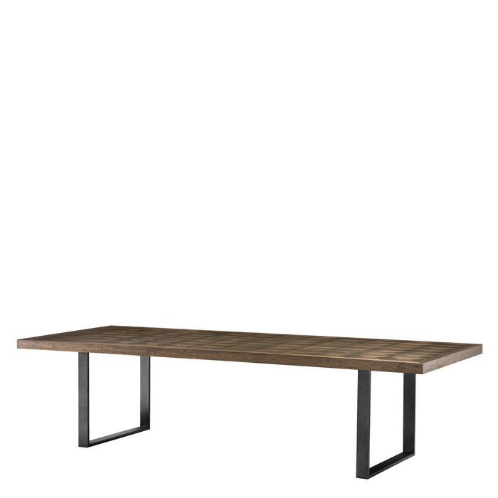 Buy online latest and high quality Gregorio 300 cm Dining Table from Eichholtz | Modern Lighting + Decor