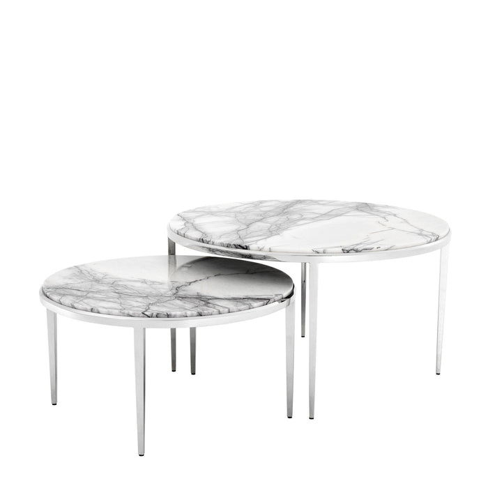 Fredo set of 2 Coffee Table   by Eichholtz | Modern Lighting + Decor
