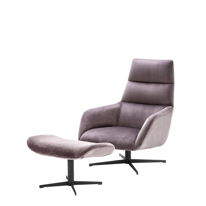 Buy online latest and high quality Swivel & Ottoman Nautilus Chair from Eichholtz | Modern Lighting + Decor