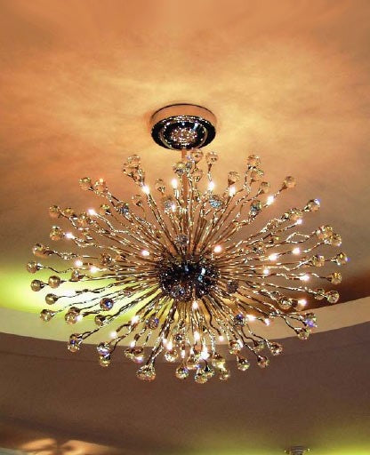 Galaxy chandelier 2330/42/100x70 from Orion | Modern Lighting + Decor