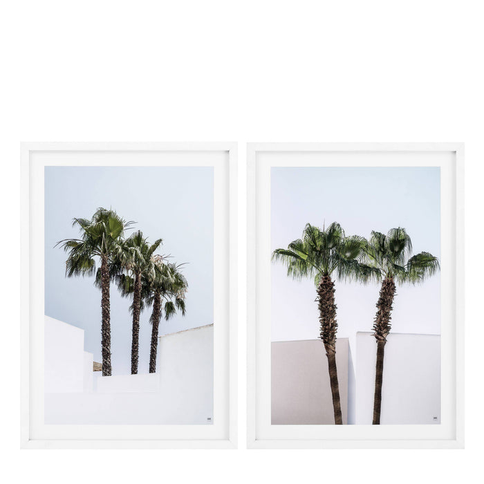Palm Trees set of 2 Prints   by Eichholtz | Modern Lighting + Decor