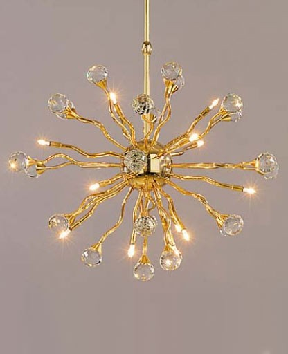 Galaxy chandelier 2330/15/53 from Orion | Modern Lighting + Decor