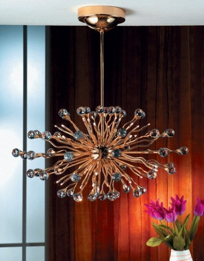 Galaxy chandelier 2330/36/70 from Orion | Modern Lighting + Decor
