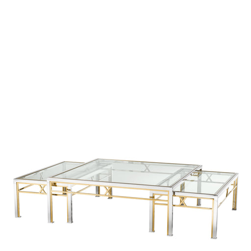 Buy online latest and high quality Lindon set of 3 Coffee Table from Eichholtz | Modern Lighting + Decor