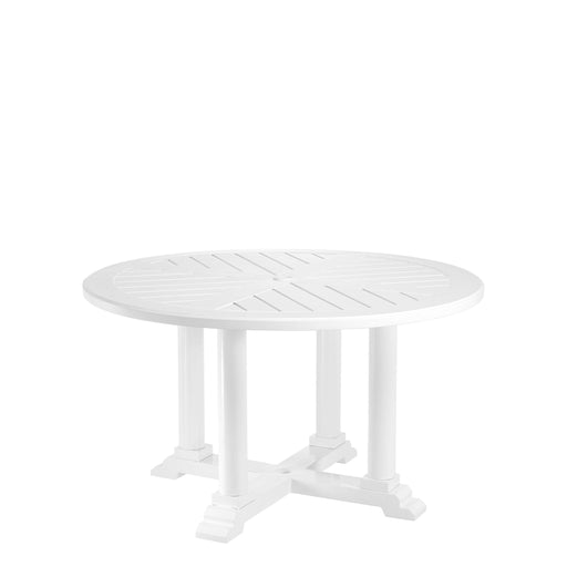 Bell Rive ø 130 cm Dining Table from Eichholtz | Modern Lighting + Decor