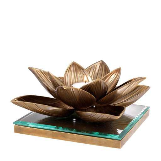 Buy online latest and high quality Tealight Lotus XL Holder from Eichholtz | Modern Lighting + Decor