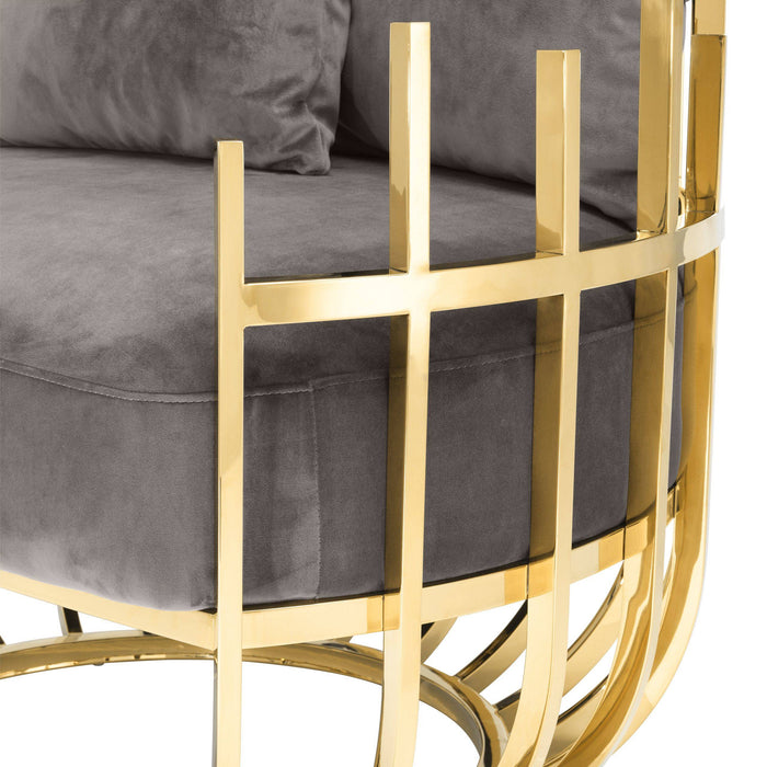 Buy online latest and high quality Santorini Left Chair from Eichholtz | Modern Lighting + Decor