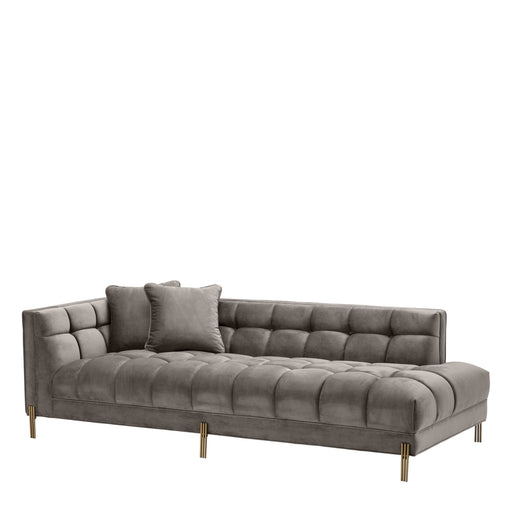 Sienna left Lounge Sofa   by Eichholtz | Modern Lighting + Decor