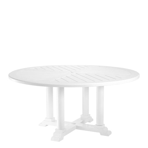 Bell Rive ø 160 cm Dining Table from Eichholtz | Modern Lighting + Decor