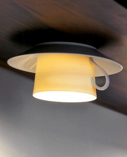 Coffee ceiling light from Anthologie Quartett | Modern Lighting + Decor
