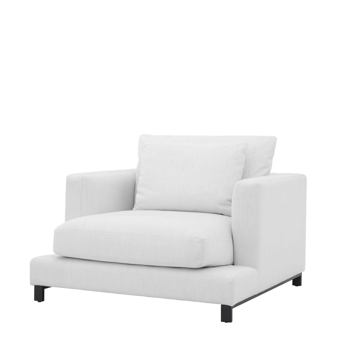 Buy online latest and high quality White Cube Accent Chair | Eichholtz Burbury from Eichholtz | Modern Lighting + Decor
