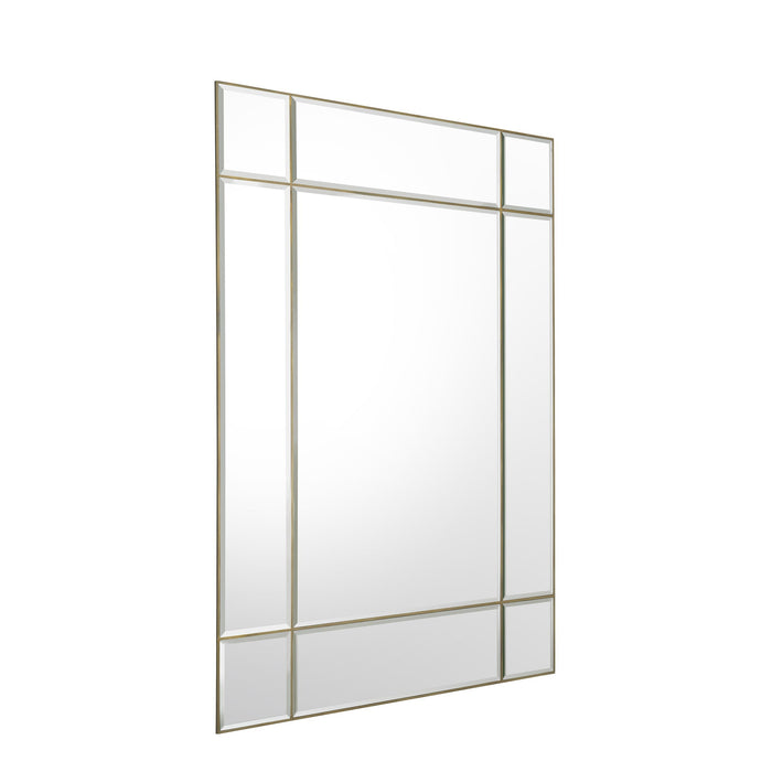 Buy online latest and high quality Brass Framed Bevelled Mirror XL | Eichholtz Beaumont from Eichholtz | Modern Lighting + Decor