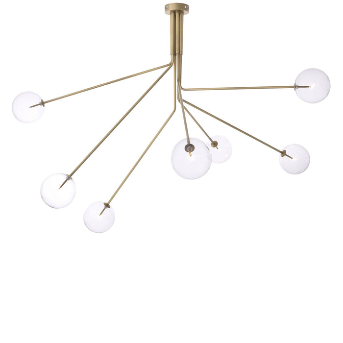 Buy online latest and high quality Antique Brass Sputnik Chandelier | Eichholtz Topaz from Eichholtz | Modern Lighting + Decor
