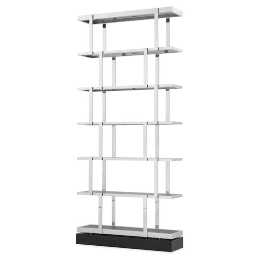 Buy online latest and high quality Stainless Steel 6-Shelf Bookcase | Eichholtz Nesto from Eichholtz | Modern Lighting + Decor