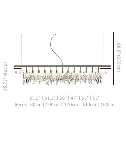 Orig. Cellula chandelier - 23 inches - 3 bulb from Anthologie Quartett | Modern Lighting + Decor
