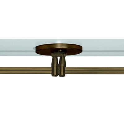 Buy online latest and high quality Monorail 4 Inch Round Canopy Dual Feed from Tech Lighting | Modern Lighting + Decor