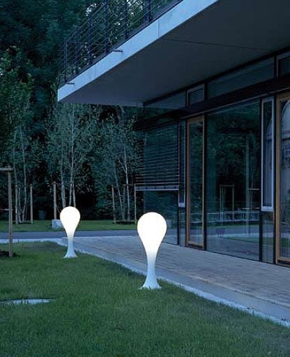Drop 4 Outdoor Floor Lamp from Next | Modern Lighting + Decor