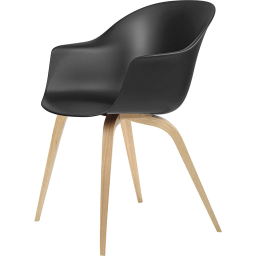 Buy online latest and high quality Bat Dining Chair - Un-Upholstered - Wood Base from Gubi | Modern Lighting + Decor