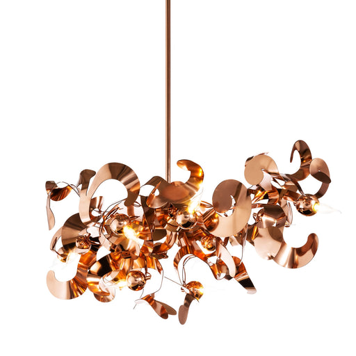 Kelp 140 Oval Pendant Light from Brand Van Egmond | Modern Lighting + Decor