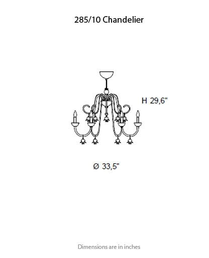 Buy online latest and high quality 285 Chandelier from ITALAMP | Modern Lighting + Decor