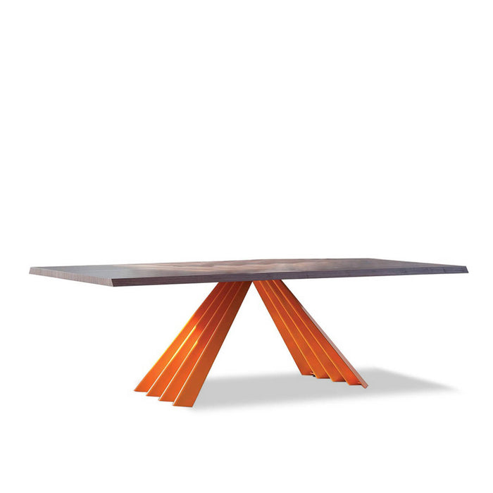 Buy online latest and high quality Ventaglio Wood Table, 98 inch from Tonin Casa | Modern Lighting + Decor