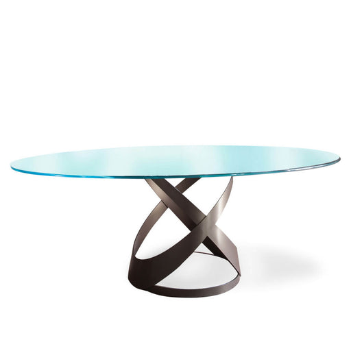 Buy online latest and high quality Capri Table, 87-in Oval from Tonin Casa | Modern Lighting + Decor